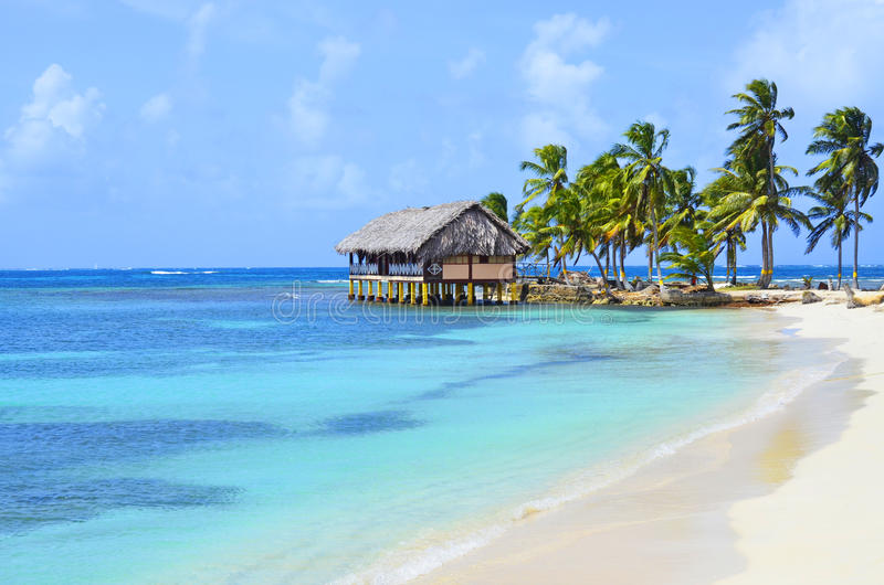 Νησί SAN Blas στοκ εικόνες