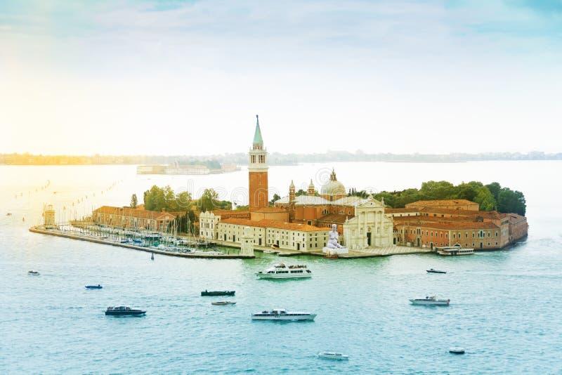 Νησί SAN Giorgio Maggiore στοκ φωτογραφία με δικαίωμα ελεύθερης χρήσης