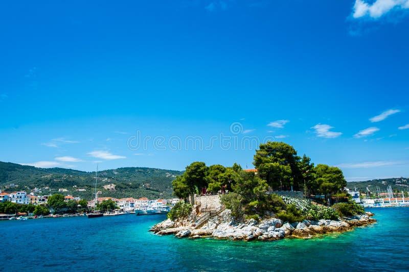 Νησί Skiathos, Ελλάδα στοκ φωτογραφία με δικαίωμα ελεύθερης χρήσης