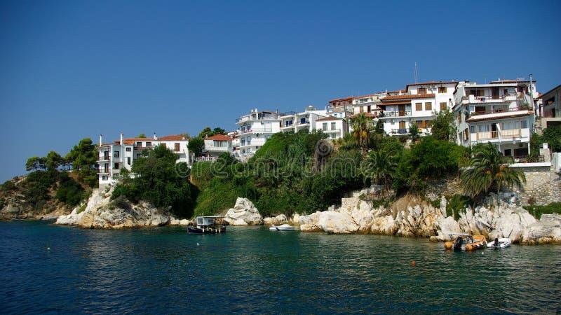 Νησί Skiathos, Ελλάδα. στοκ φωτογραφία με δικαίωμα ελεύθερης χρήσης