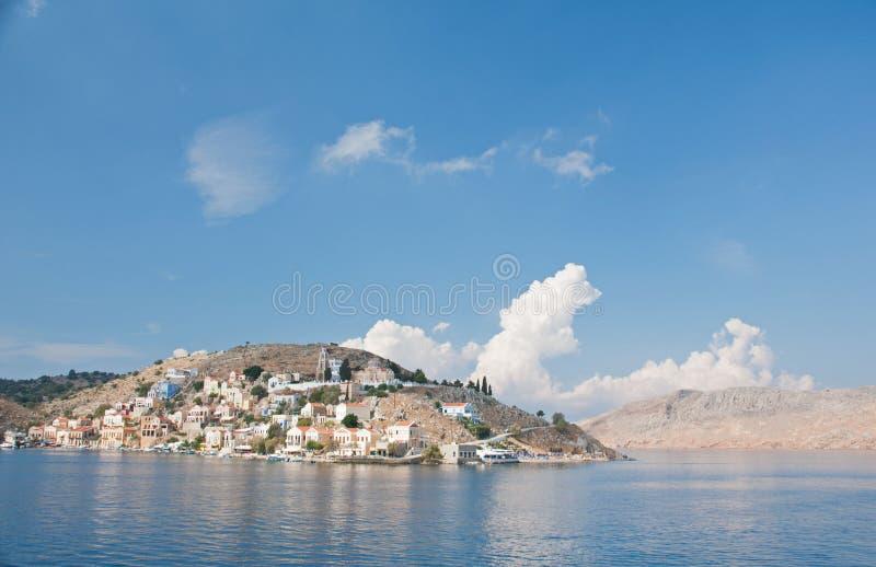 Νησί Symi στοκ εικόνες