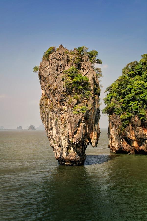 Νησί Tapu Ko, Ταϊλάνδη στοκ εικόνα