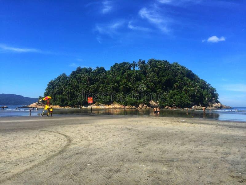 Νησί Urubuqueçaba στοκ εικόνα