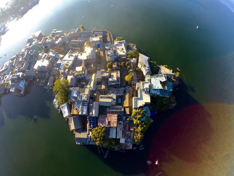 Νησί Yuji Shuanglang στοκ φωτογραφία