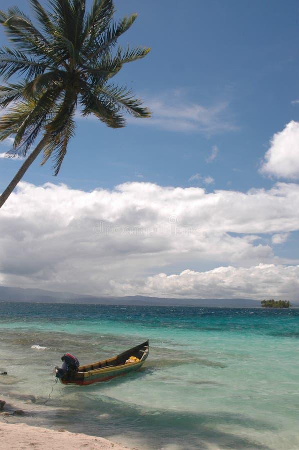 νησιά εγγενής Παναμάς SAN βαρ&k στοκ φωτογραφία με δικαίωμα ελεύθερης χρήσης