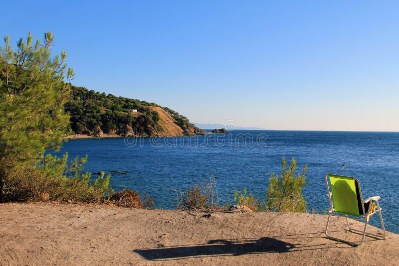 Νησιά πριγκήπων Marmara στη θάλασσα στοκ φωτογραφία