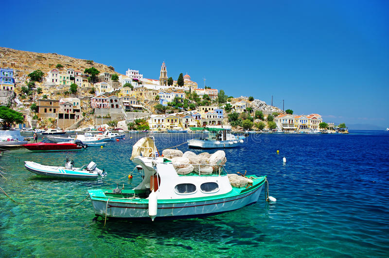 νησιά της Ελλάδας στοκ εικόνες