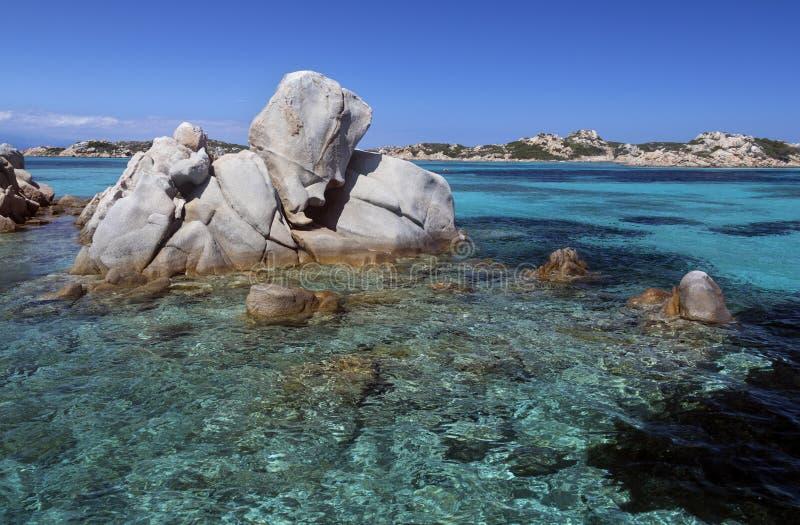 Νησιά της Maddalena - Σαρδηνία - Ιταλία στοκ εικόνες με δικαίωμα ελεύθερης χρήσης