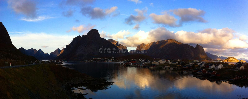 Νησιά Lofoten, Νορβηγία στοκ φωτογραφίες