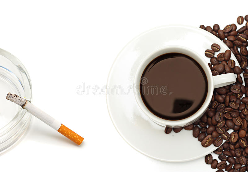 νικοτίνη καφεΐνης στοκ φωτογραφίες με δικαίωμα ελεύθερης χρήσης