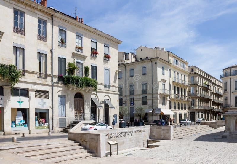 Νιμ Προβηγκία Γαλλία στοκ φωτογραφίες με δικαίωμα ελεύθερης χρήσης