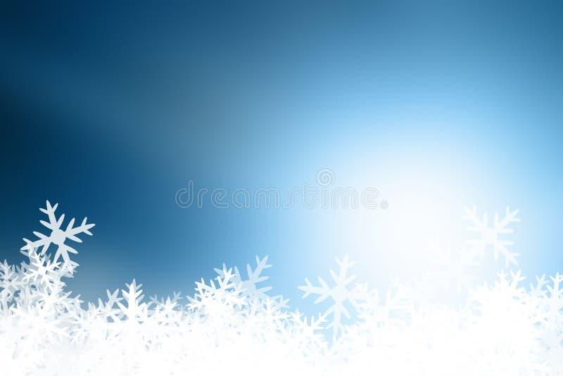 Νιφάδες χιονιού διανυσματική απεικόνιση