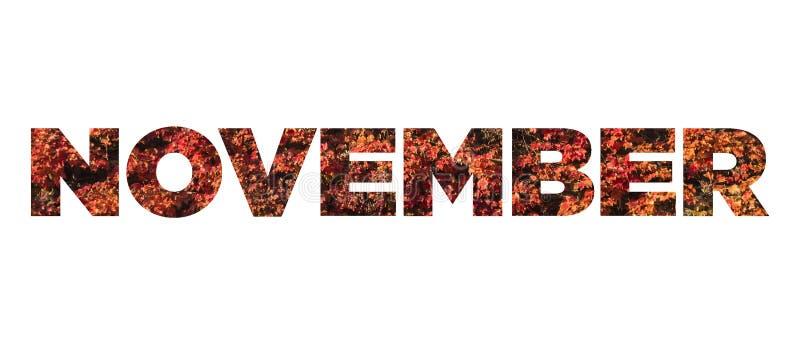 Νοέμβριος στοκ εικόνες