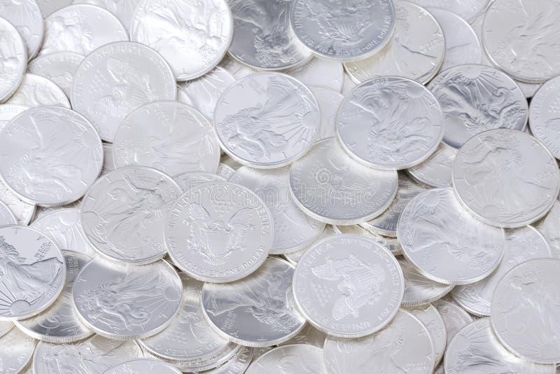 νομίσματα ανασκόπησης λα&mu στοκ εικόνες με δικαίωμα ελεύθερης χρήσης