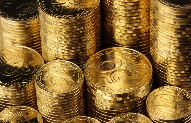 νομίσματα ανασκόπησης χρ&upsilon στοκ φωτογραφίες με δικαίωμα ελεύθερης χρήσης