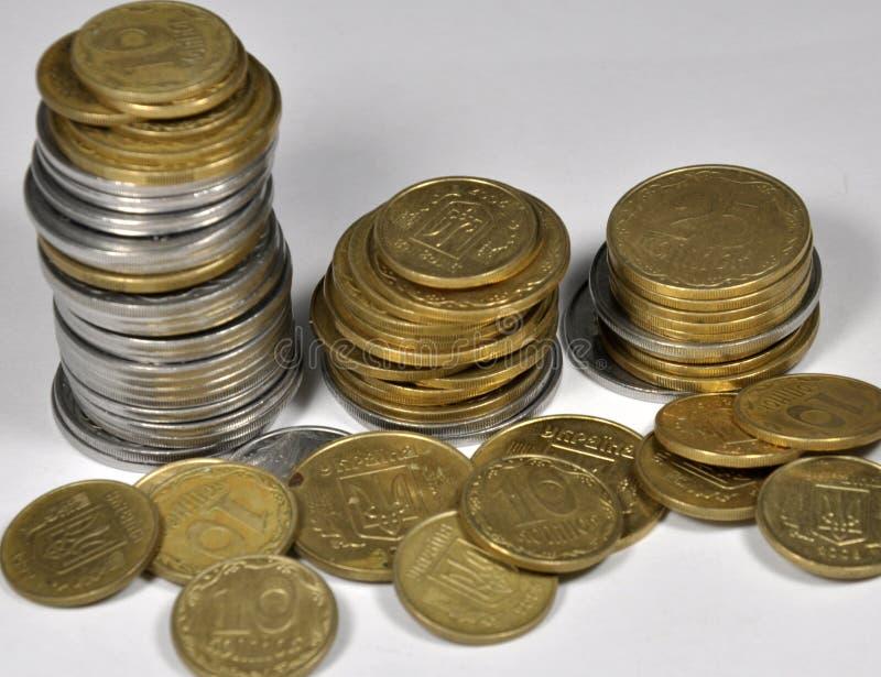νομίσματα μικρός Ουκρανό&sigmaf στοκ φωτογραφία