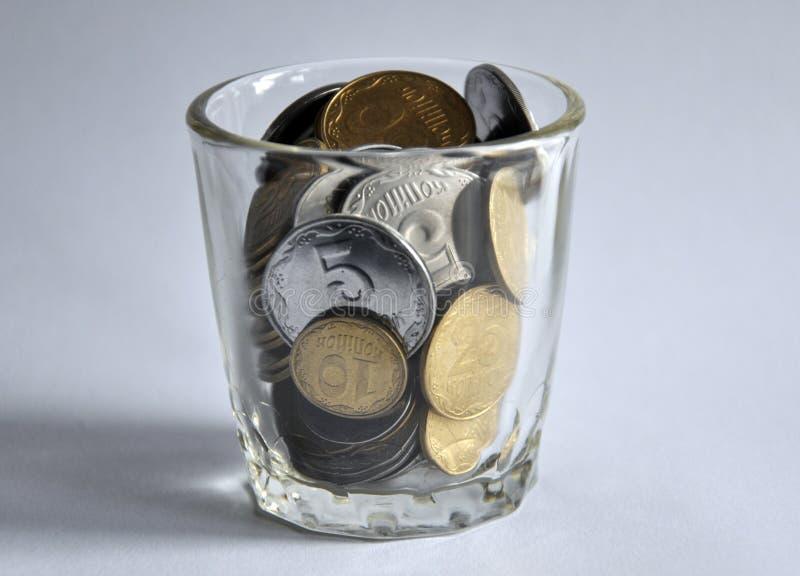 νομίσματα μικρός Ουκρανό&sigmaf στοκ εικόνα με δικαίωμα ελεύθερης χρήσης