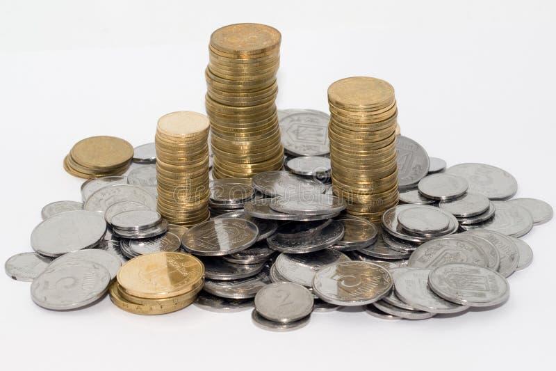νομίσματα μικρός Ουκρανό&sigmaf στοκ φωτογραφίες
