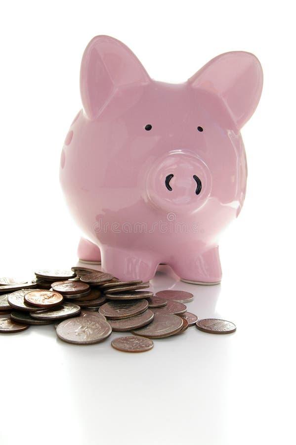 Download νομίσματα τραπεζών piggy στοκ εικόνες. εικόνα από αποσυρθείτε - 1531752