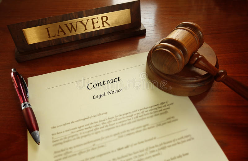 Νομική σύμβαση με gavel δικαστών στοκ φωτογραφία με δικαίωμα ελεύθερης χρήσης