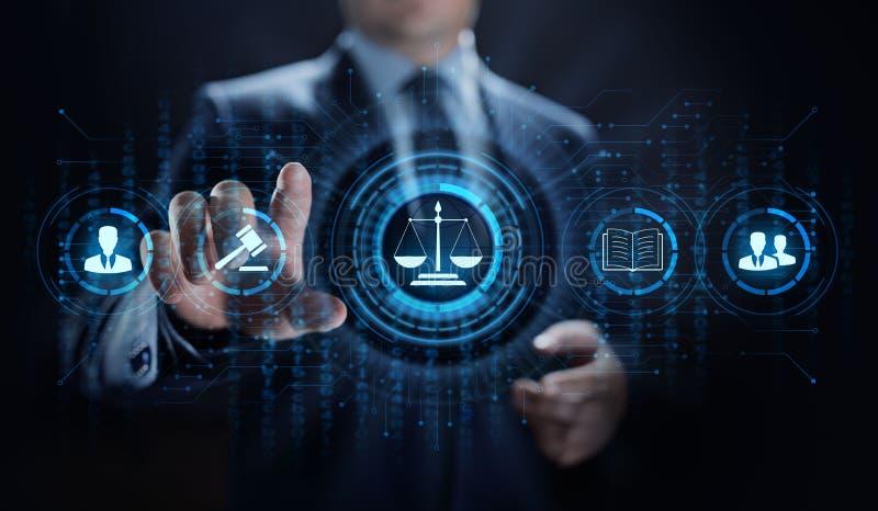 Νομικός δικηγόρος επιχειρησιακών συμβουλών πληρεξούσιων στο νόμο Συμμόρφωση εργασίας στοκ φωτογραφίες