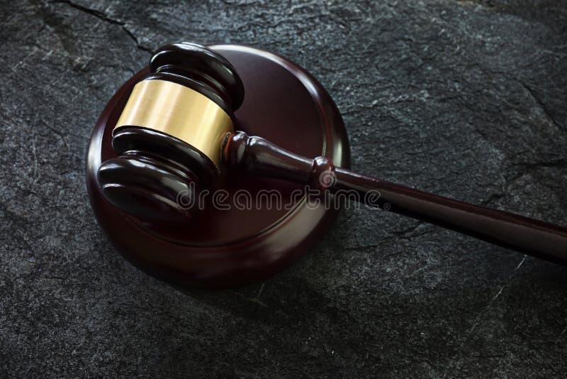 Νομικό gavel δικαστηρίου στοκ εικόνα με δικαίωμα ελεύθερης χρήσης