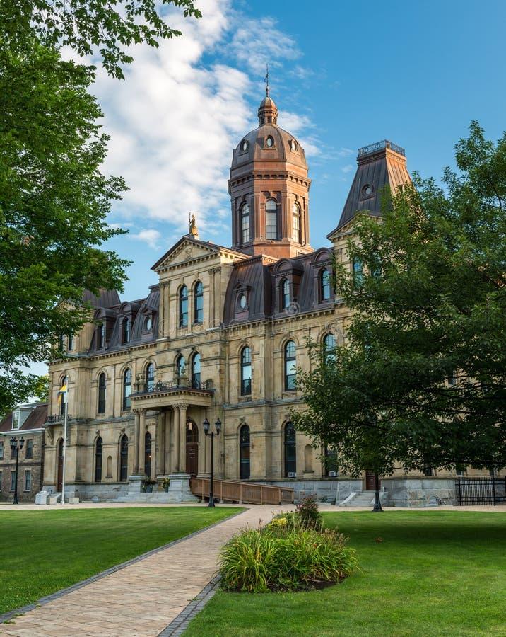 Νομοθετικό κτήριο του Νιού Μπρούνγουικ στοκ εικόνα με δικαίωμα ελεύθερης χρήσης