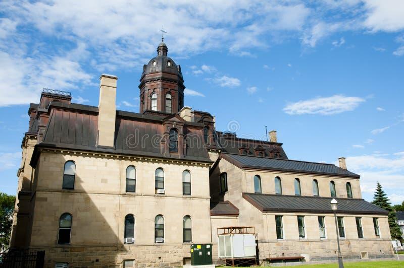 Νομοθετικό κτήριο - Fredericton - Καναδάς στοκ φωτογραφίες