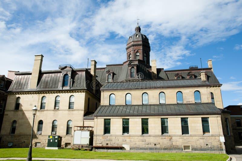 Νομοθετικό κτήριο - Fredericton - Καναδάς στοκ εικόνες