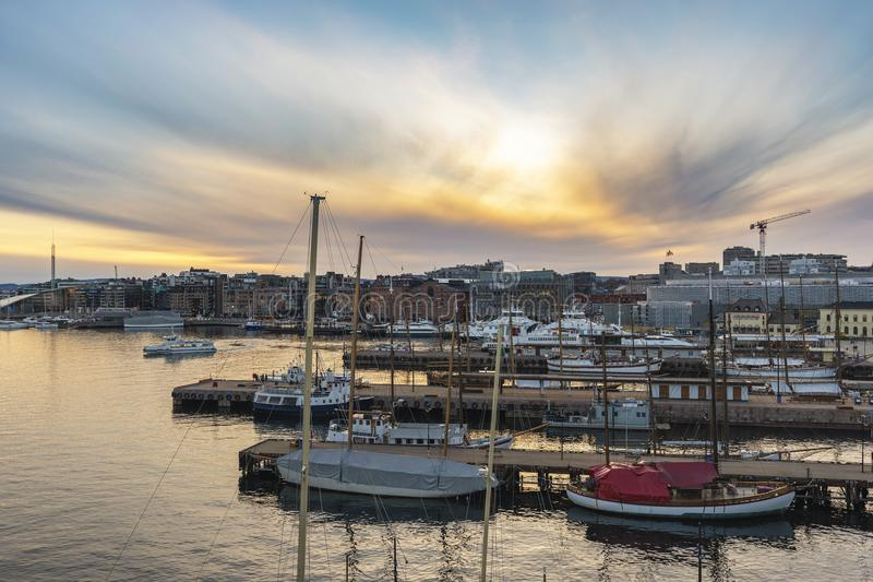 Νορβηγία Όσλο στοκ φωτογραφία με δικαίωμα ελεύθερης χρήσης