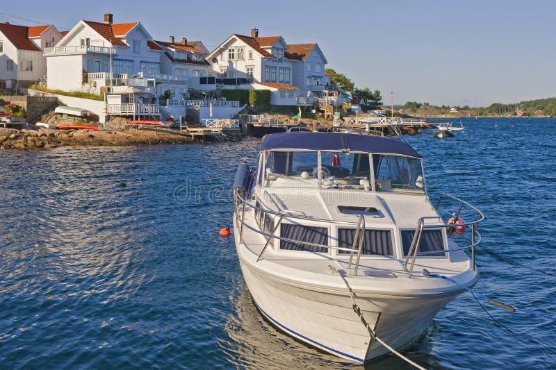 Νορβηγικό λιμάνι στοκ εικόνα με δικαίωμα ελεύθερης χρήσης