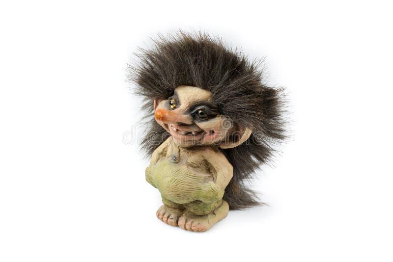 νορβηγικό troll στοκ εικόνες