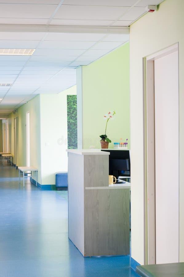 νοσοκομείο αιθουσών στοκ εικόνες με δικαίωμα ελεύθερης χρήσης