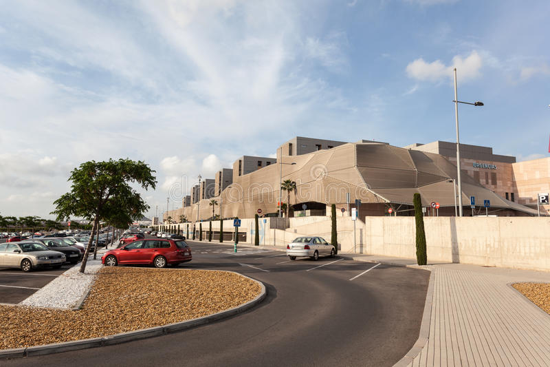 Νοσοκομείο της Lucia Santa στην Καρχηδόνα, Ισπανία στοκ φωτογραφίες