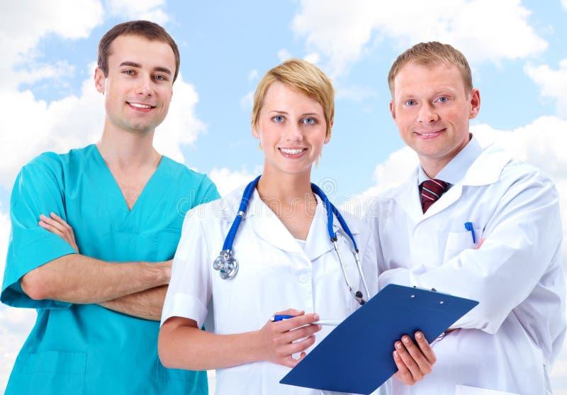 νοσοκομειακοί γιατροί στοκ φωτογραφία