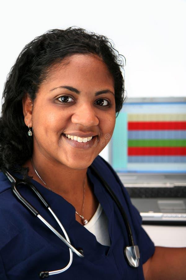 νοσοκόμα μειονότητας στοκ εικόνα