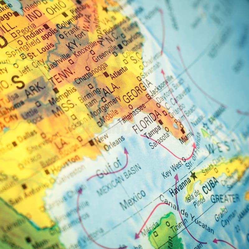 Νοτιοανατολικό σημείο ΗΠΑ χαρτών στενές εγκαταστάσεις καθαρισμού σωλήνων ελαίου εικόνας εργοστασίων equpments εφαρμοσμένης μηχανι στοκ εικόνες