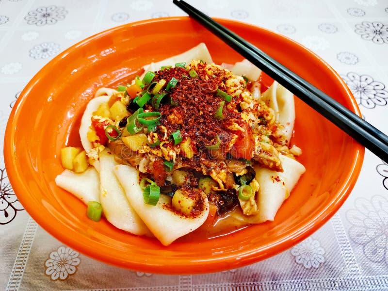 Νουντλς Biangbiang στοκ φωτογραφία με δικαίωμα ελεύθερης χρήσης