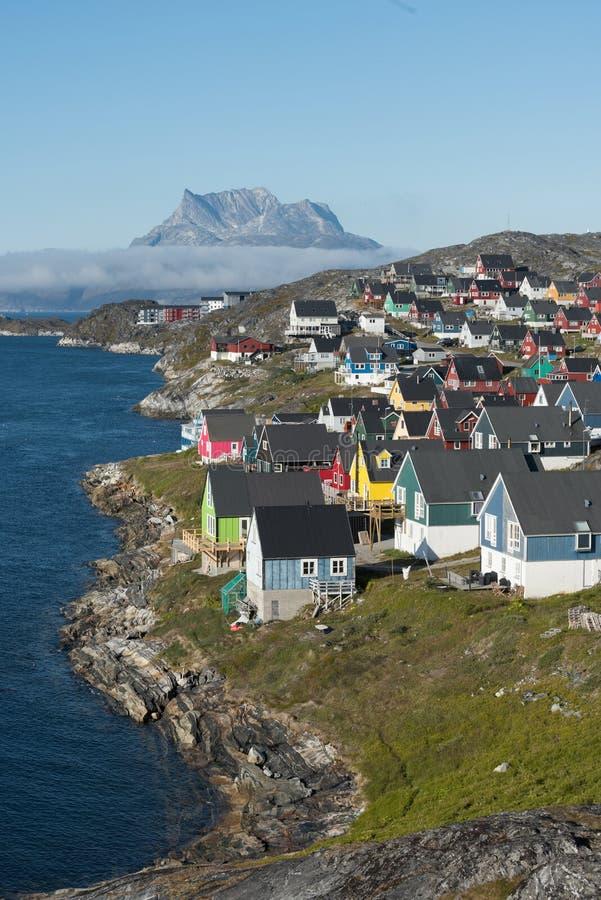 Νουούκ, Γροιλανδία στοκ εικόνα. εικόνα από godthaab - 80015669