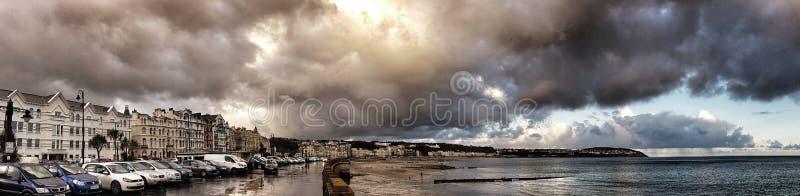Ντάγκλας, Isle of Man στοκ εικόνα