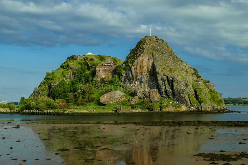 Ντάμπαρτον Castle στοκ φωτογραφία με δικαίωμα ελεύθερης χρήσης