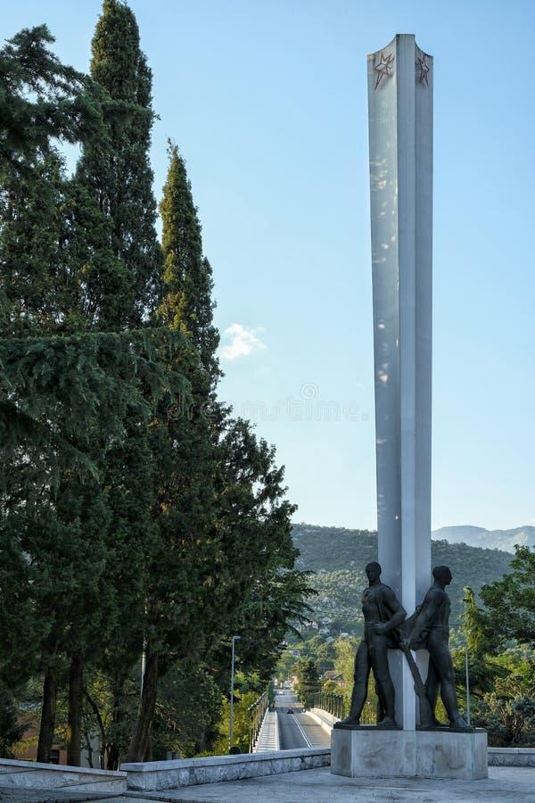 Ντανίλοβγκραντ στο Μαυροβούνιο στοκ εικόνες με δικαίωμα ελεύθερης χρήσης