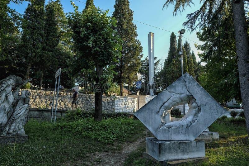 Ντανίλοβγκραντ στο Μαυροβούνιο στοκ φωτογραφία