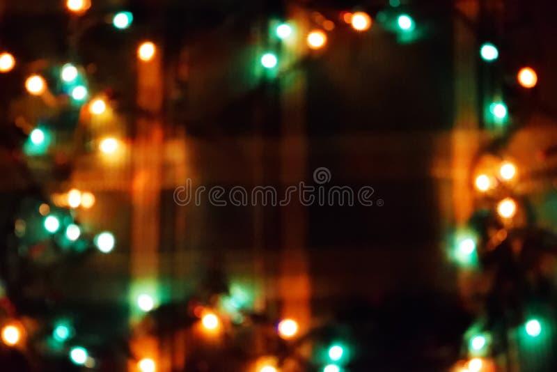 Ντεκόρ λαμπών φωτός Γιρλάντα με στοκ εικόνες με δικαίωμα ελεύθερης χρήσης