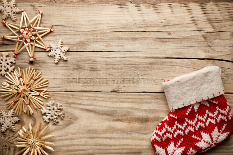 Ντεκόρ Χριστουγέννων. στοκ φωτογραφία