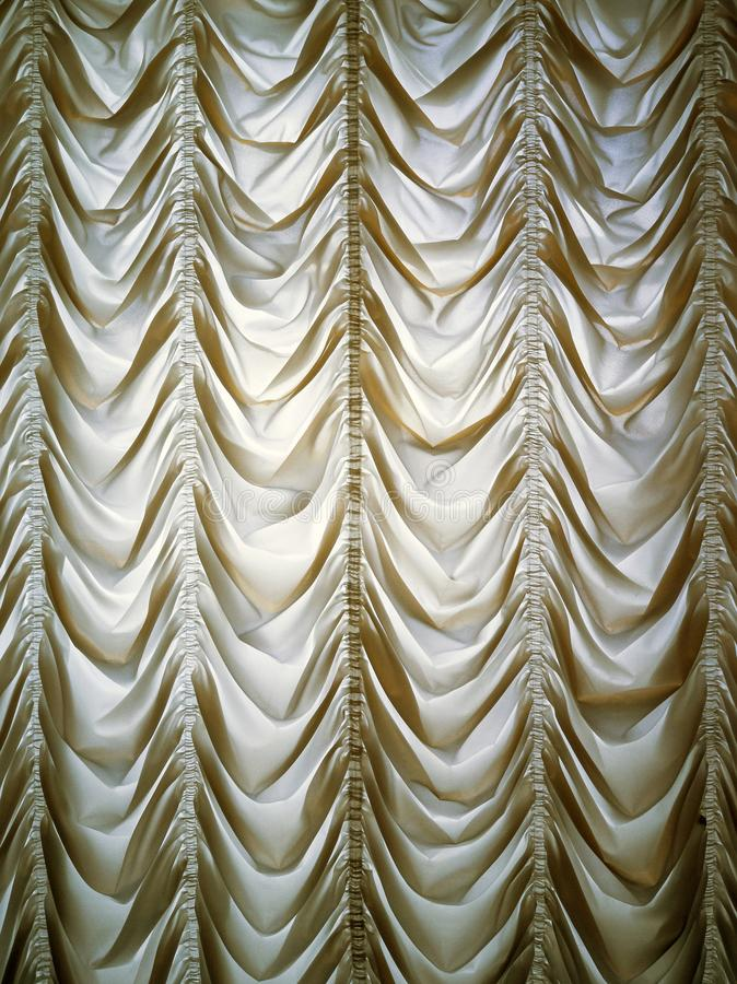 Ντεμοντέ κουρτίνα πολυτέλειας στοκ εικόνα με δικαίωμα ελεύθερης χρήσης