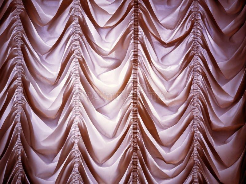 Ντεμοντέ κουρτίνα πολυτέλειας στοκ εικόνα