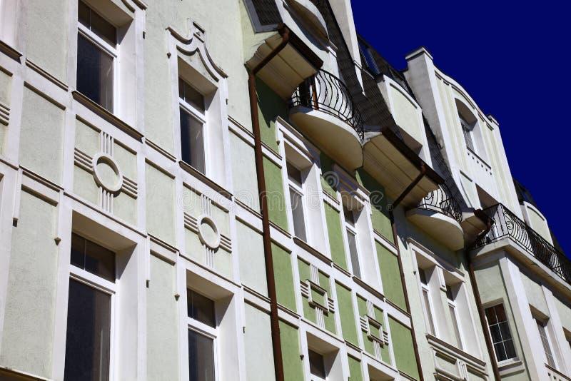 Ντεμοντέ κτήριο στοκ εικόνα