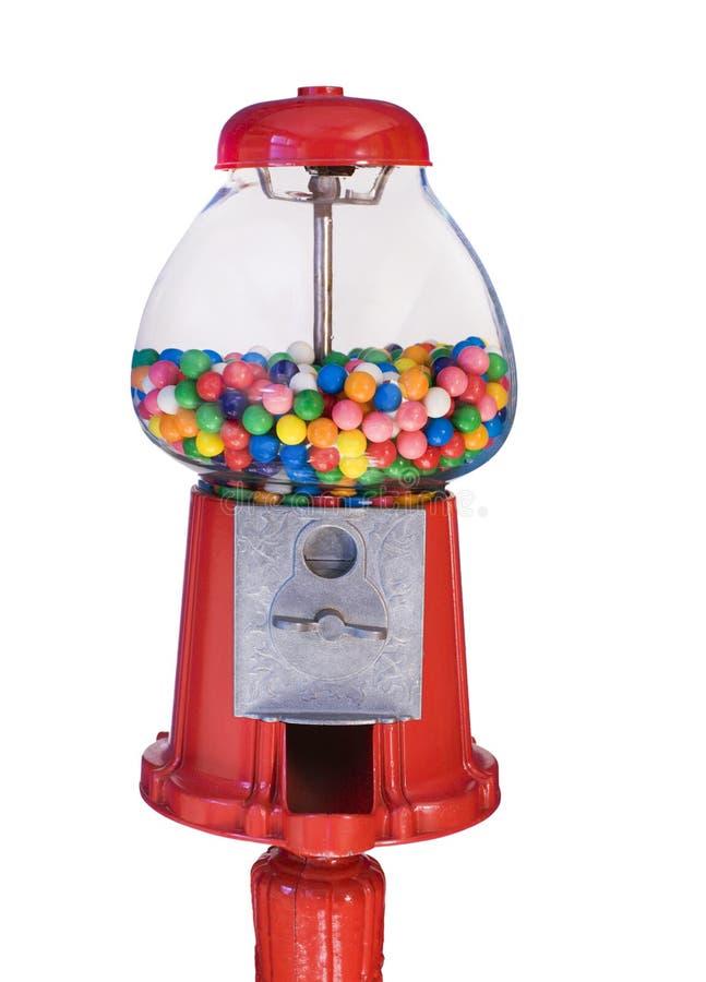 Ντεμοντέ μηχανή Gumball (που απομονώνεται) στοκ φωτογραφία με δικαίωμα ελεύθερης χρήσης