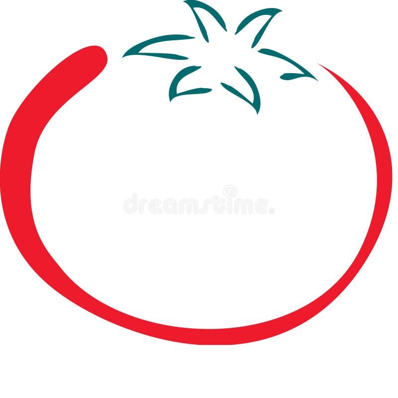 Download ντομάτα γραμμών τέχνης απεικόνιση αποθεμάτων. εικονογραφία από φυτικός - 388964